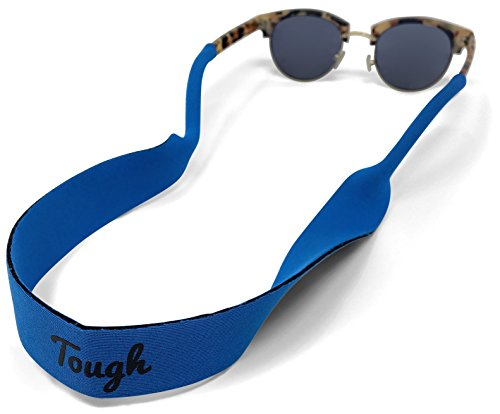 Premium Sunglass Strap - Floating Neoprene Eyewear Retainer for All Water Sports & Outdoor Adventures - Keeps Your Glasses Secure - Durable & Comfortable. Fits most frames.