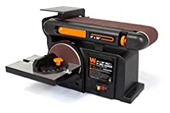 WEN 6502T 4.3-Amp 4 x 36 in. Belt and 6 ...