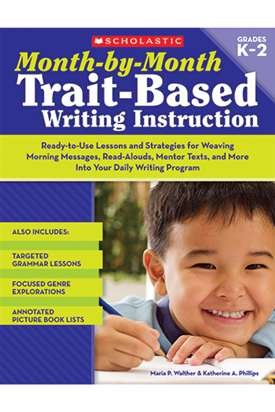 MONTH BY MONTH TRAIT BASED WRITING INSTRUCTION GR K-2 - SC-9780545066938 by Educational Toys USA