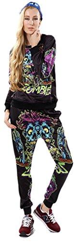 Thenice - Sudadera con capucha - para mujer Zombie
