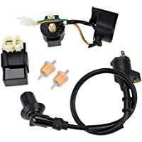 6PIN AC CDI Ignition Coil Relay Fuel Filters for...