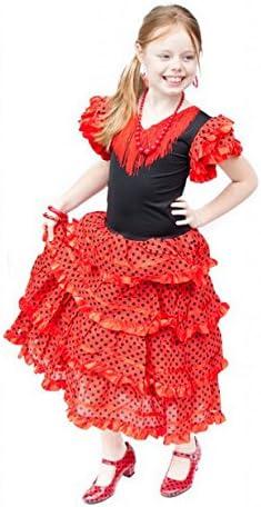 La Senorita Vestido Flamenco Sevillana Español Traje de Flamenca ...