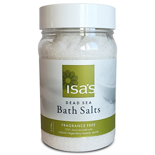 Soothing Dead Sea Salt - Best in Baths for Muscle & Joint Relief, Professional Grade - Pure and Natural Mineral, Treats Psoriasis, Eczema, Arthritis, Dermatitis & Acne - 100% Certified Salts, 2.2 lbs (Dead Person Makeup)