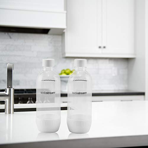 SodaStream 1042211010 1L Classic Carbonating Bottle Twin Pack, White by SodaStream (Image #3)