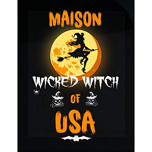 Inked Creatively Maison Wicked Witch of USA Sticker