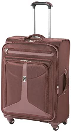 Atlantic Luggage Odyssey Lite Expandable Spinner, Burgundy, One Size
