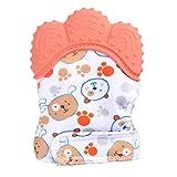 Willsa New Design Baby Silicone Mitts Teeth Mitten Molars Glove...