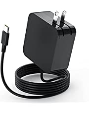 61W USB Type C Laptop Charger for MacBook Pro 13/15-inch 2016-2020 and Later (A1706 A1708 A1707 A1534), for MacBook Air 13/12-inch 2018-2020 Replacement MacBook Retina 12-inch 2015-2017 Power Adapter, for iPad Pro 12.9 Gen 5/4/3, 11 in 2nd/1st Gen, Air 4 Gen 2021/2020/2018