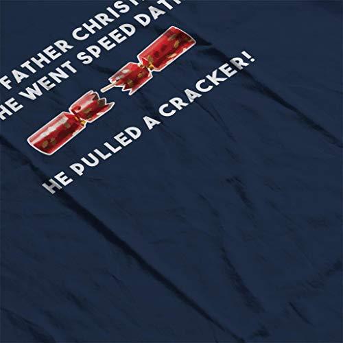 Navy Dating Cracker Blue Christmas Joke Speed Sweatshirt Women's qaxAS7
