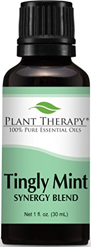 Aromatherapy Tranquil Mint (Plant Therapy Tingly Mint Synergy Essential Oil 30 mL (1 oz) 100% Pure, Undiluted, Therapeutic Grade)