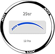 Bicycle Wheel Stickers Bike Accessories Reflective MTB Cycling Decals Safe Protector for 27.5/29 Inch Tire Inn