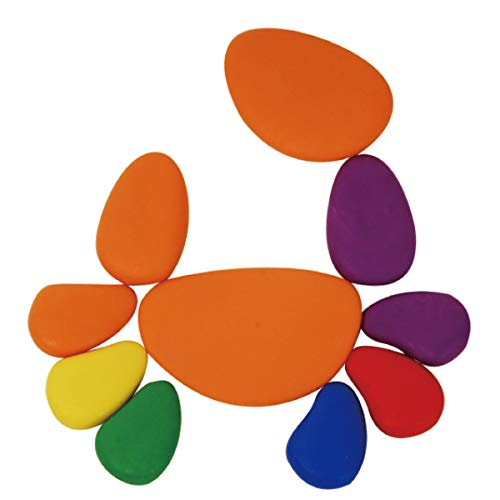 edx Education Rainbow Pebbles - Sorting and Stacking Stones by edxeducation (Image #3)