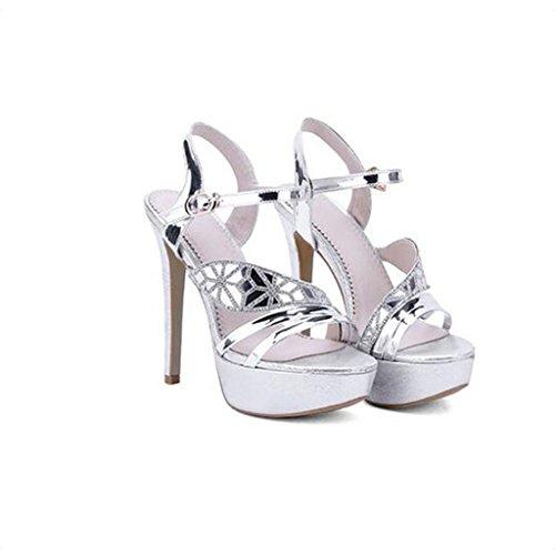 Altos Sra Nupciales Wlm Sandalias Tacones Zapatos D2HeWEI9Y