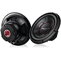 Pioneer TS-W126M 1300 Watts 12 Single 4 Ohm Car Subwoofer Champion Series (Pair)
