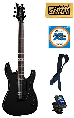 Dean Vendetta XMT Black Tremelo Electric Guitar FREE Strings Tuner Strap Cloth (Dean Vnxmt Mbk Guitar compare prices)