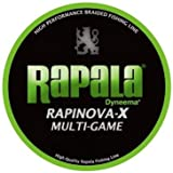 ラパラ(Rapala) PEライン ラピノヴァX マルチゲーム 150m 0.18号 6lb ライムグリーン RLX150M018LG