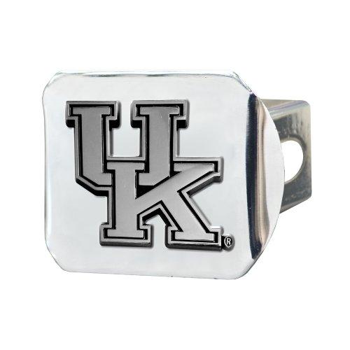 FANMATS NCAA University of Kentucky Wildcats Chrome Hitch Cover (Kentucky Trailer Hitch Cover)