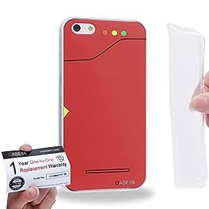Case88 [Apple iPhone 5 / 5s] Gel TPU Carcasa/Funda & Tarjeta de garantía - Pokemon Pokedex 0793