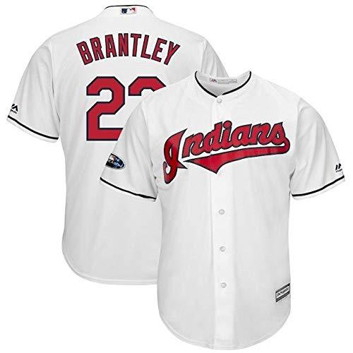 Majestic Majestic Michael Brantley Cleveland Michael Indians White Indians 2018 Postseason Jersey Home Cool Base Player Jersey スポーツ用品【並行輸入品】 L B07HK1NJX9, おつけもの 慶 kei:f9816dcf --- cgt-tbc.fr