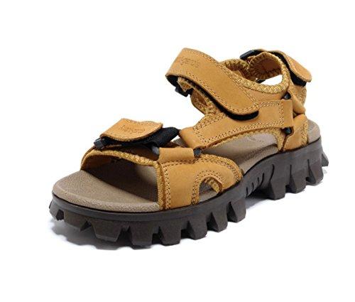 Esterni Scarpe I Giorni Uomo Casual Scarpe Estivi Sandali per Antiscivolo Yellow Sandali Spiaggia LEDLFIE da Scarpe Tutti da 67zqwwx4p
