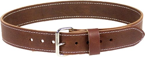 Occidental Leather 5002 LG 2-Inch Thick Leather Work Belt, Large by Occidental Leather