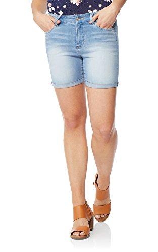 WallFlower Women's Juniors Irresistible Midthigh Shorts in Beverly, 3