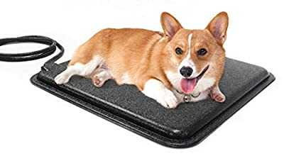 """Milliard Heated Pet Pad – 18x13"""" with Fleece Mat, Warming Bed for your Dog, Cat, Kitty or Bunny"""
