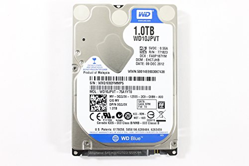 Dell G2J3X WD10JPVT-75A1YT0 2.5