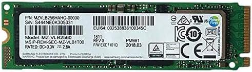 Samsung PM981 - Memoria SSD de 256 GB, Color Negro: Amazon.es ...
