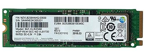Samsung PM981 Polaris 256GB M 2 NGFF PCIe Gen3 x 4, NVME Solid state drive  SSD, OEM (2280) MZVLB256HAHQ-00000
