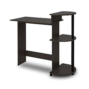Amazon Com Furinno 11181ex Bk Compact Computer Desk