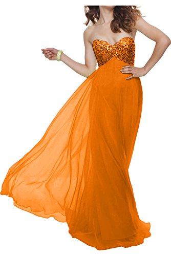 TOSKANA BRAUT - Vestido - Estuche - para mujer naranja