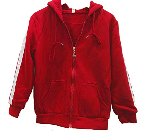 Sucks Adult Sweatshirt - HalloweenCostumeParty red Cotton Costumes Zipper Hoodie for Kids (130cm(7))