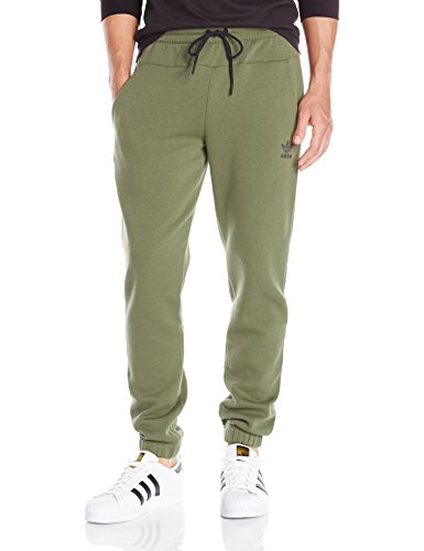 adidas Originals Men's Originals Sport Luxe Surf Pant, Olive Cargo, S