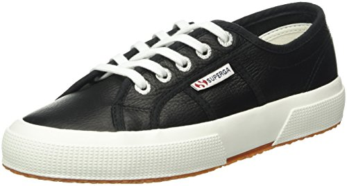 Superga 2750 Ukfglu, Baskets Basses Mixte Adulte Noir - Schwarz (C39)