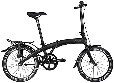Dahon Uno Mu - Bicicleta plegable, color negro mate: Amazon.es ...