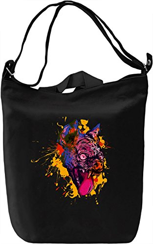 Bat Head Borsa Giornaliera Canvas Canvas Day Bag| 100% Premium Cotton Canvas| DTG Printing|
