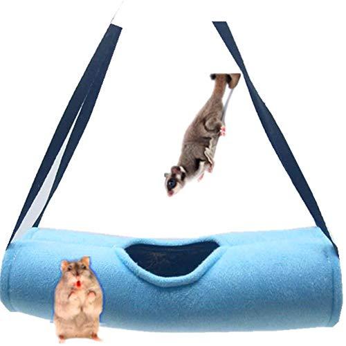 - Purelemon Three-inch Hamster Toy Tunnel, Warm Hammock Cotton nest, Bird nest Tunnel pet Supplies