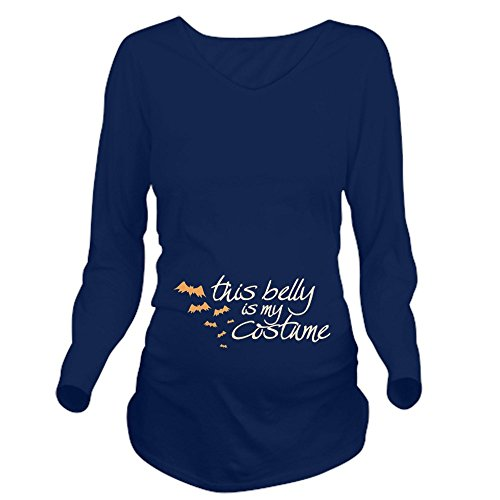 CafePress This Belly is My Costume Long Sleeve