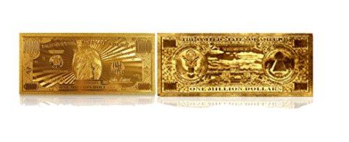 American Art Classics Gold Million Dollar Bill Commemorative by American Art Classics (Image #2)