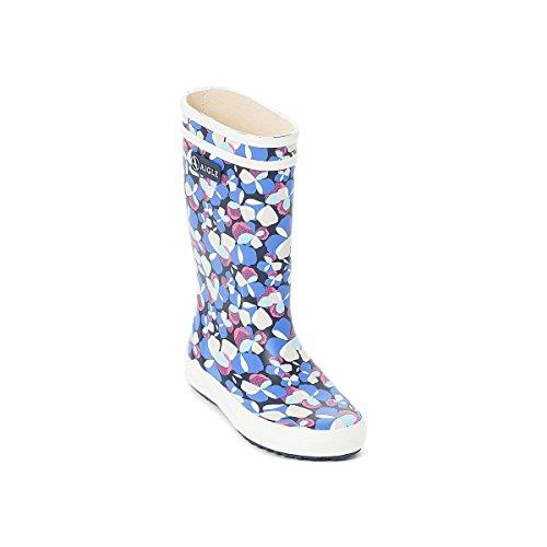 Aigle Unisex-Kinder Lolly Pop Glit Gummistiefel Mehrfarbig (Marine/rouge Poppy)