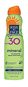 Kiss My Face Organics Mineral Continuous Spray Sunscreen SPF 30