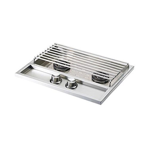 Lynx LSB502-NG Sedona Built-In Natural Gas Double Side Burner by Lynx