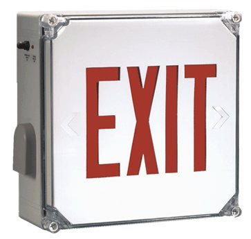 Heavy Duty Exit Sign by Carpenter Lighting