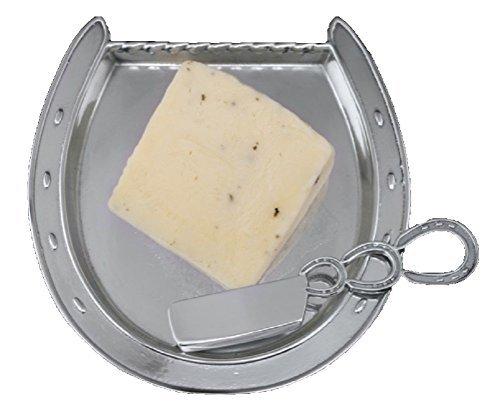 Arthur Court Horseshoe Plate with Server by Arthur Court Designs