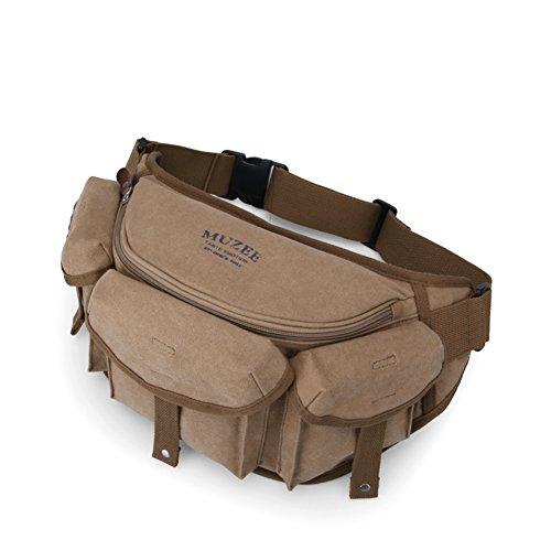 al Messenger Bolsa D Aire Bag lona Pack d De Libre Super Versátil Slr Carteras Hombres Casual Hombre Pecho Cámara 0AxPa
