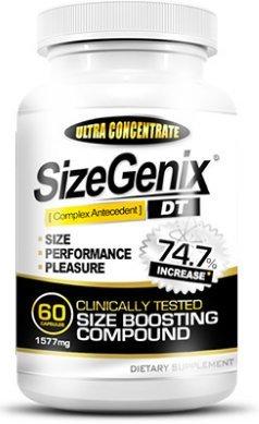 1 Month Sizegenix Male Enhancement Supplement