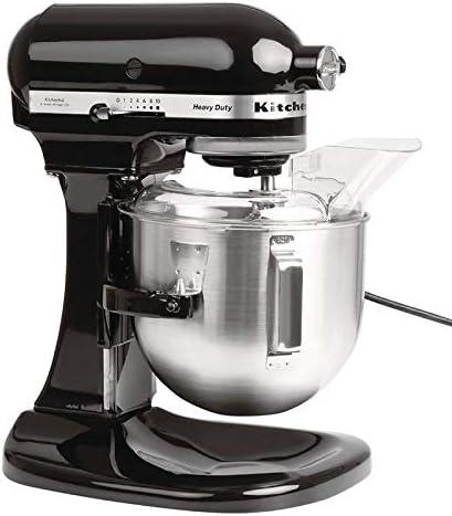 KitchenAid 5KPM5BOB Heavy Duty-Máquina de Cocina (4,8 L), ónix negro: Amazon.es: Hogar