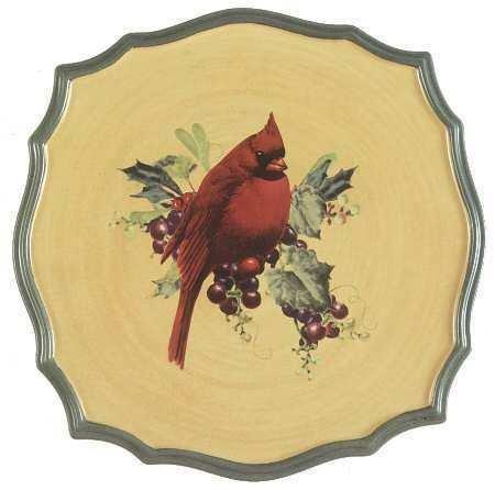 - Lenox Winter Greetings Everyday Trivet Cardinal New