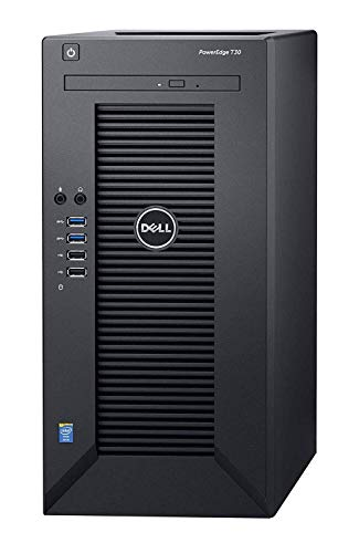 2019 Flagship Dell PowerEdge T30 Business Mini Tower Server System, Intel Quad-Core Xeon E3-1225 v5 up to 3.4GHz 8GB DDR4 256GB SSD DVD-RW HDMI USB 3.0 No Operating System